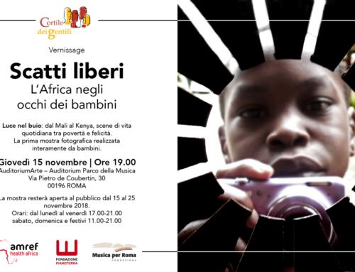 """""""Scatti Liberi. L'Africa negli occhi dei bambini"""""""